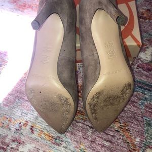Via Spiga Shoes - Nude taupe suede pumps EUC